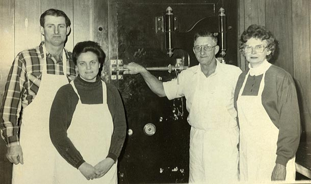 The founders of Dutchland Frozen Foods